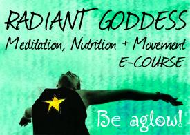 Radiant Goddess Inspired Action