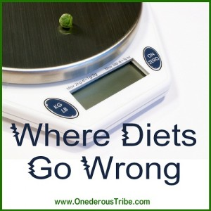 Where Diets Go Wrong